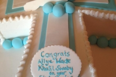 christening baby shower personalised cakes (2)